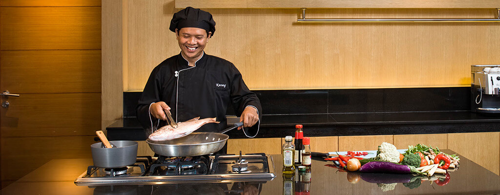 Villa Cendrawasih - Chef