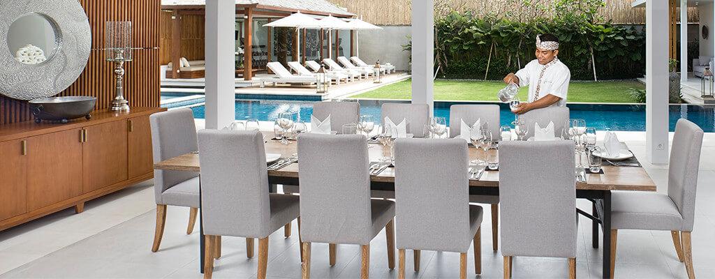Villa Cendrawasih - Dining room