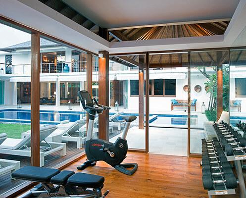 Villa Cendrawasih - Gym