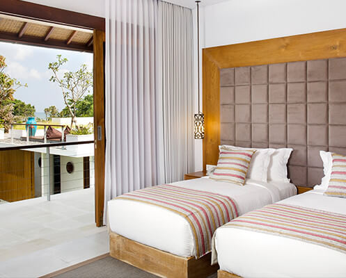 Villa Cendrawasih - Twin bedroom