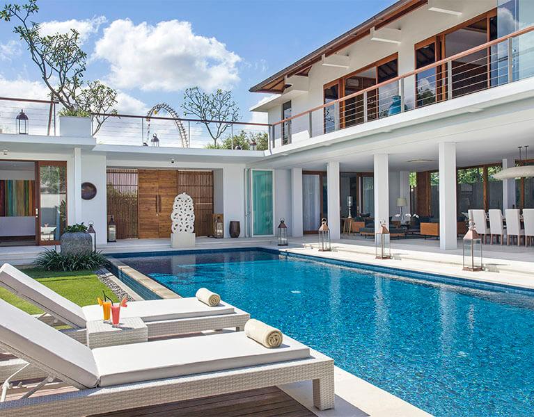 Links Villa Cendrawasih Seminyak 5 Bedroom Luxury Villa Bali