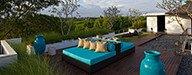 Villa Cendrawasih - Upstairs alfresco living area